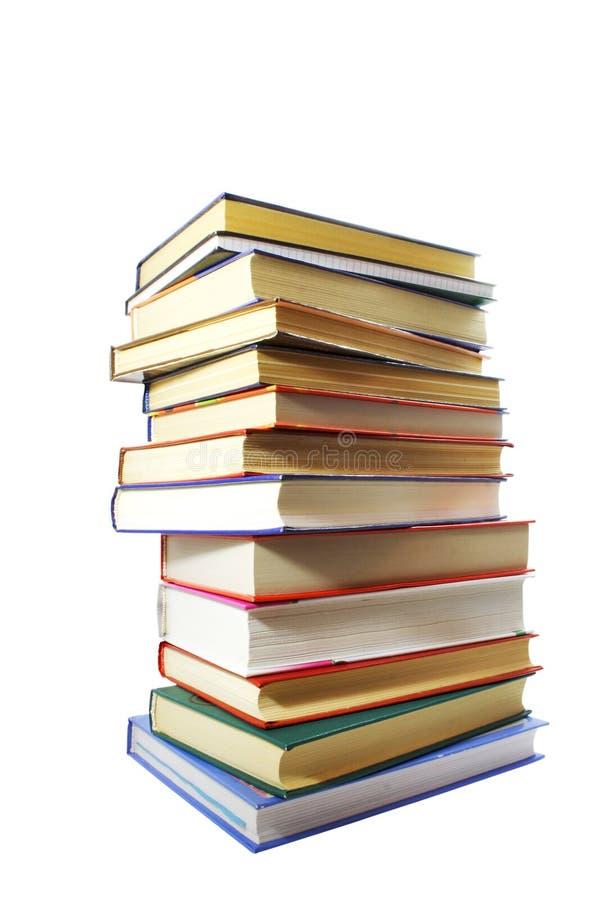 Stapel der Bücher stockbilder