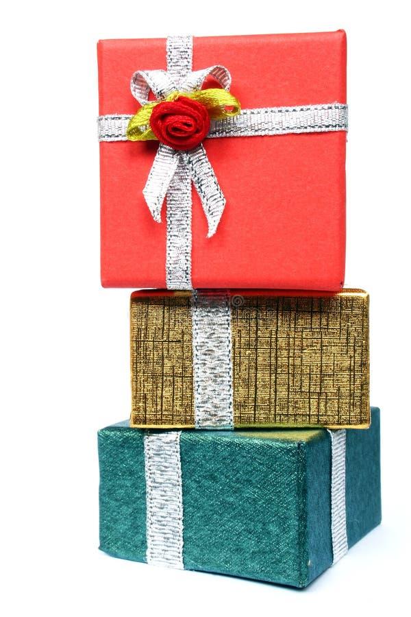 Stapel der Geschenke lizenzfreie stockbilder