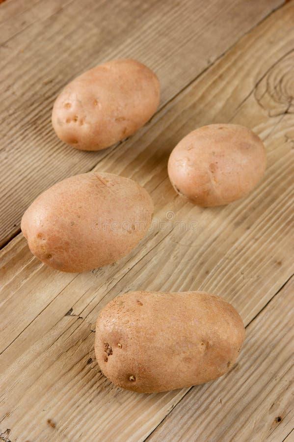 Stapel der Kartoffeln stockfoto