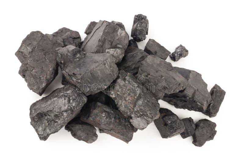 Stapel der Kohle stockbilder