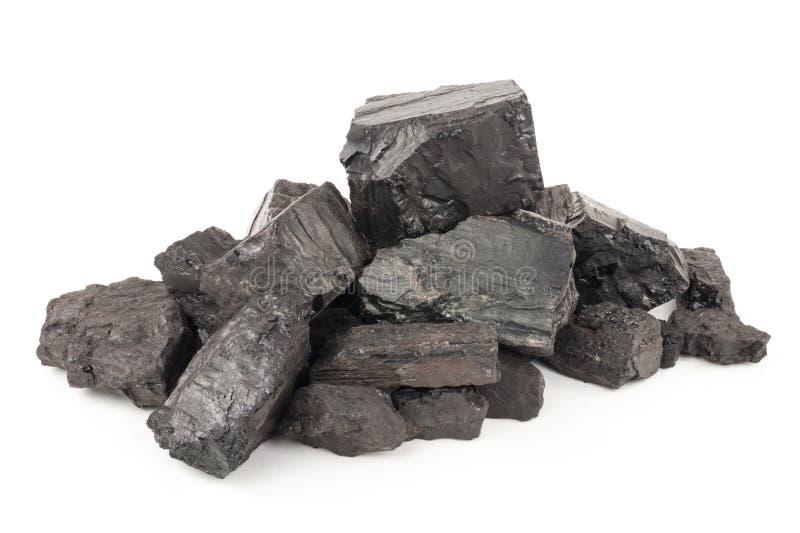 Stapel der Kohle stockfotografie