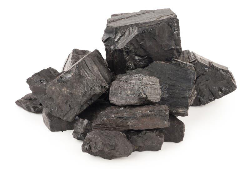 Stapel der Kohle lizenzfreie stockfotos