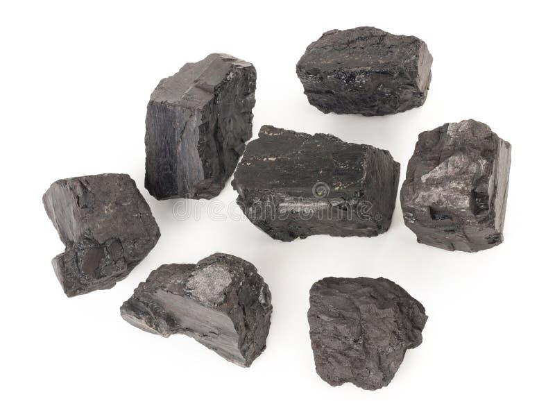 Stapel der Kohle lizenzfreie stockfotografie