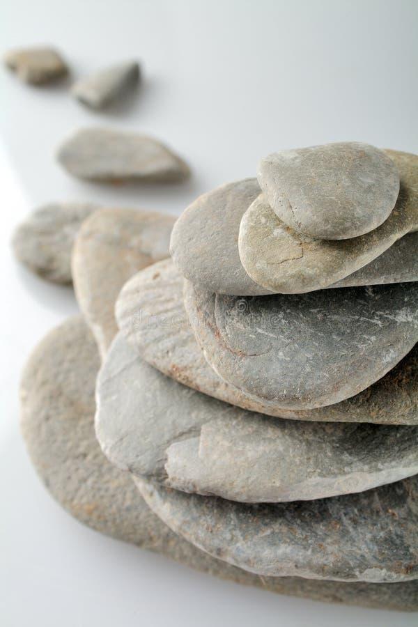 Stapel der Steine stockfotos