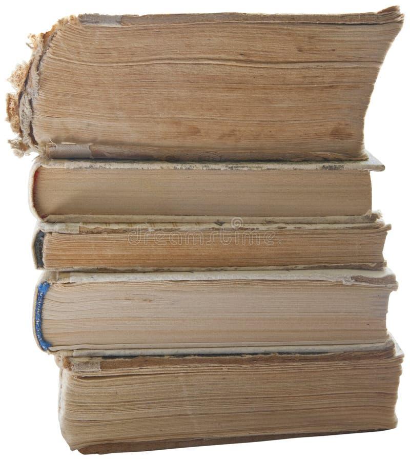 Stapel des alten Buches stockfoto