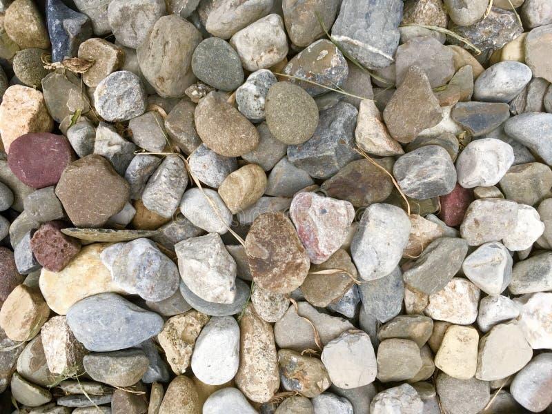 Stapel des Fluss-Felsens stockbilder