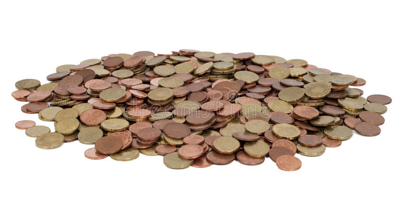 Stapel des Geldes lizenzfreie stockfotos