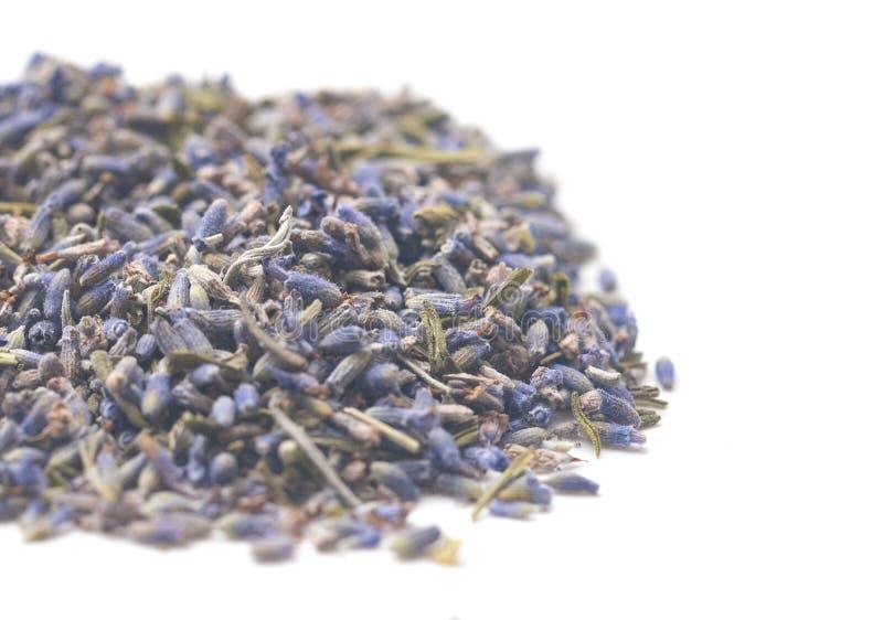 Stapel des getrockneten Lavendels stockfotos