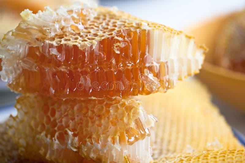 Stapel des Honigs lizenzfreies stockfoto