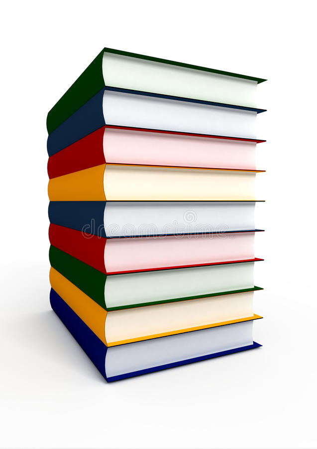 Stapel des Wissens stock abbildung