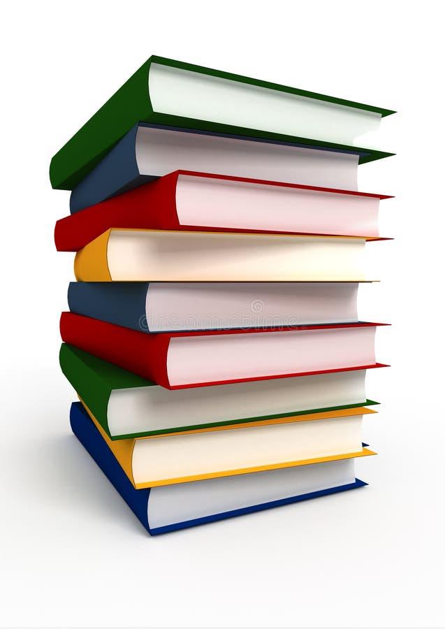 Stapel des Wissens lizenzfreie abbildung