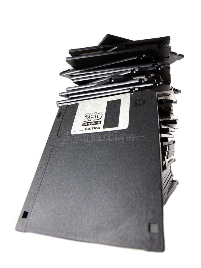 Stapel Disketten stockfotos