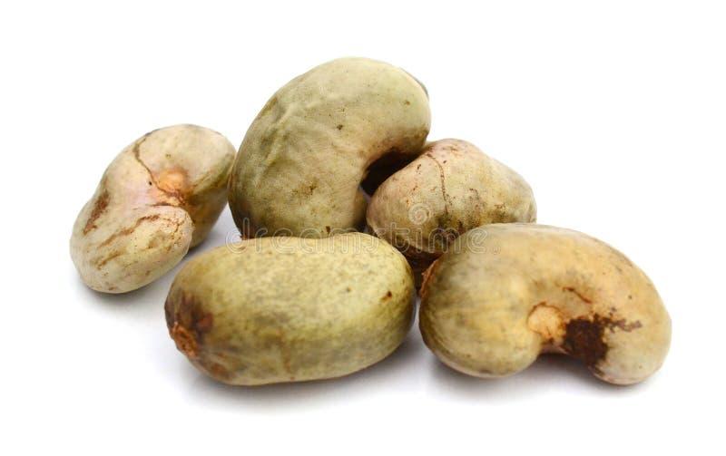 stapel för cashewmuttrar arkivbild