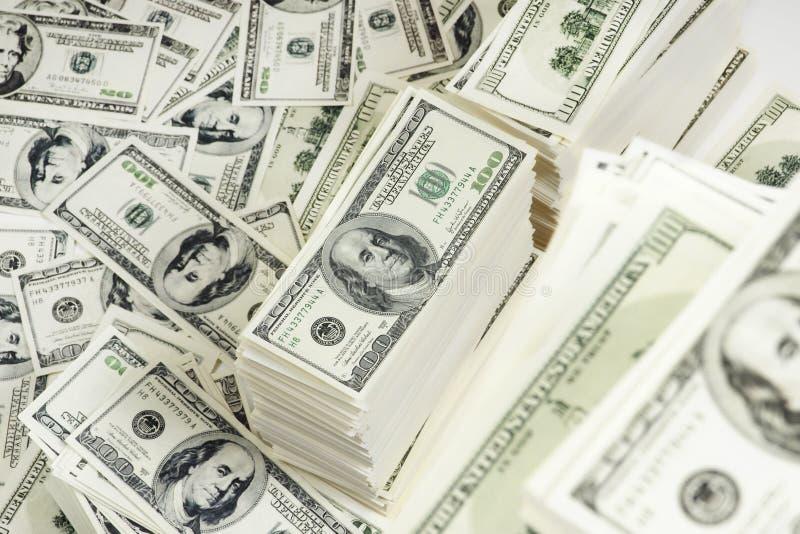 Stapel Geld lizenzfreies stockbild