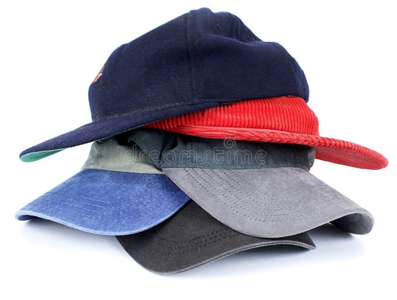 Stapel Hüte lizenzfreie stockfotos