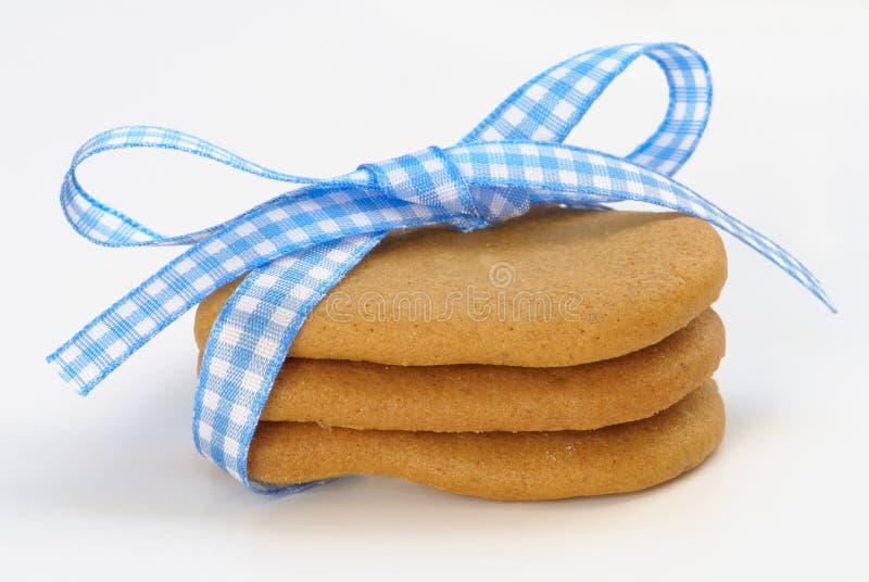Stapel Lebkuchen-Plätzchen lizenzfreie stockfotos