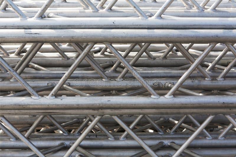 Stapel Metallbinder lizenzfreie stockfotos