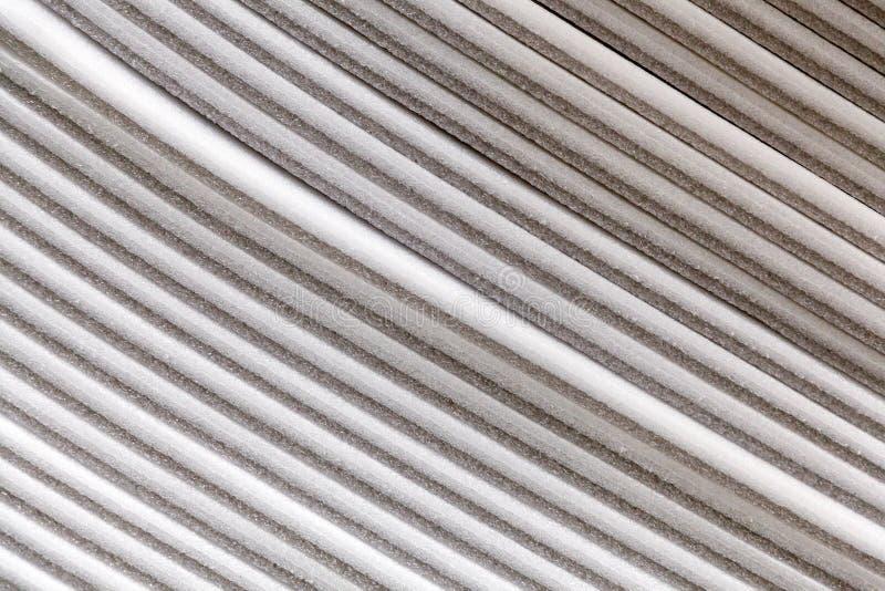 Stapel panelen van de celluloseisolatie batt stock afbeeldingen