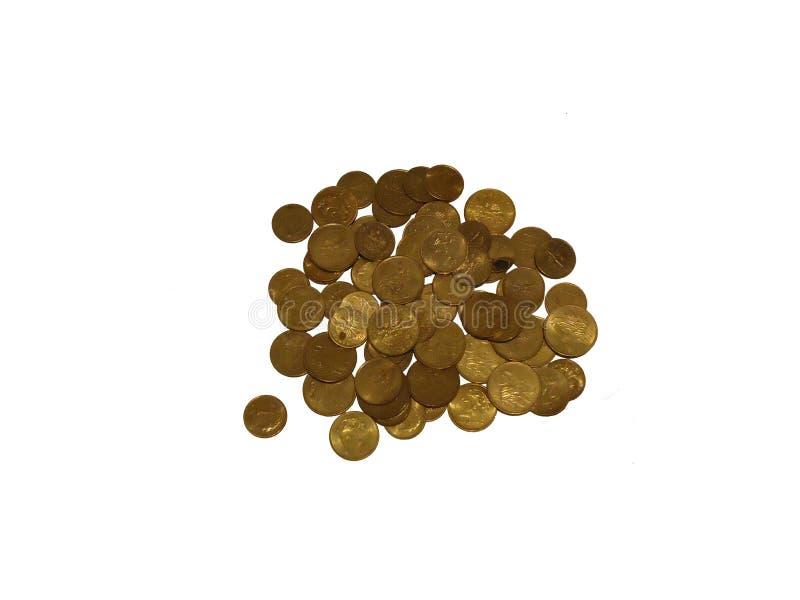Stapel Pennys PLN stockbild