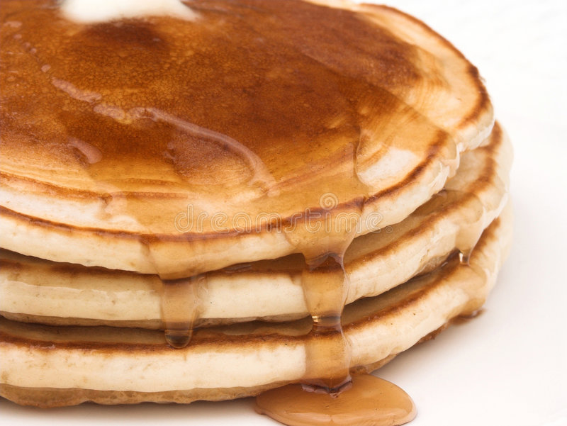 Stapel Pfannkuchen lizenzfreie stockfotografie