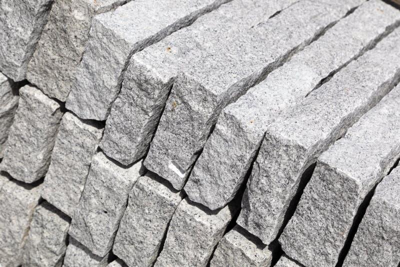 Stapel Pflasterungsteine   stockfotografie