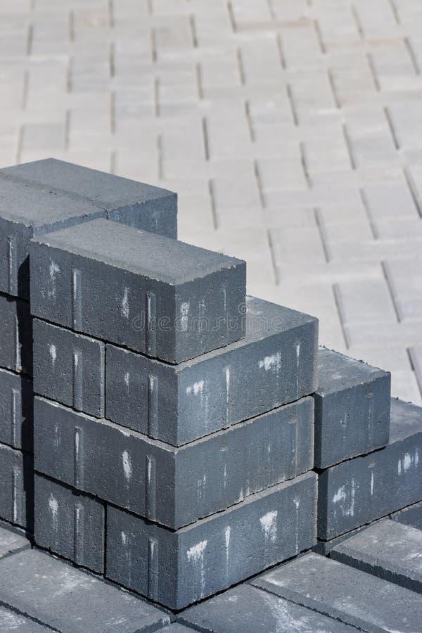 Stapel Pflasterungsteine lizenzfreie stockfotografie