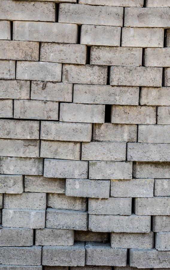 Stapel Pflasterungsteine Nahaufnahme stockfoto