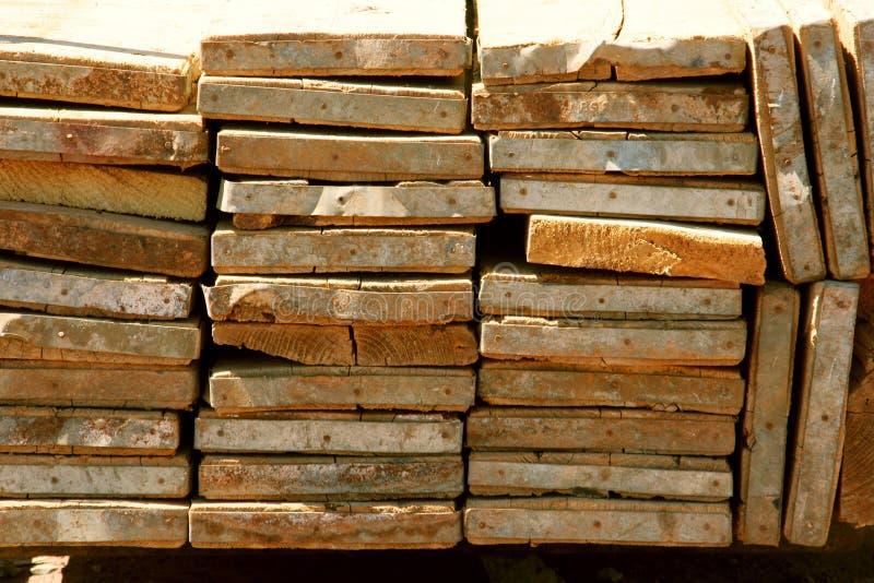 Stapel Planken royalty-vrije stock foto