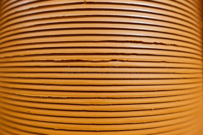 Stapel Plastikgartentöpfe, genommen am aus nächster Nähe lizenzfreies stockfoto