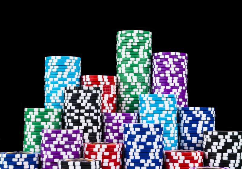 Poker Chips Stapel