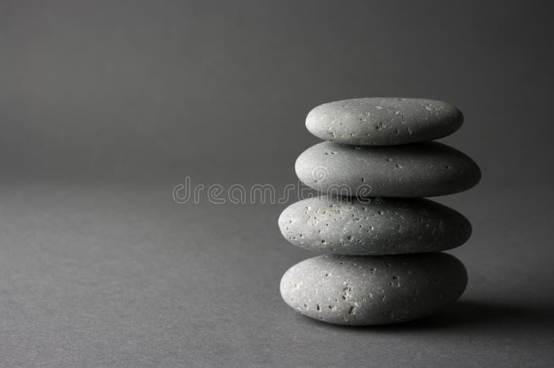 Stapel Steine stockbild
