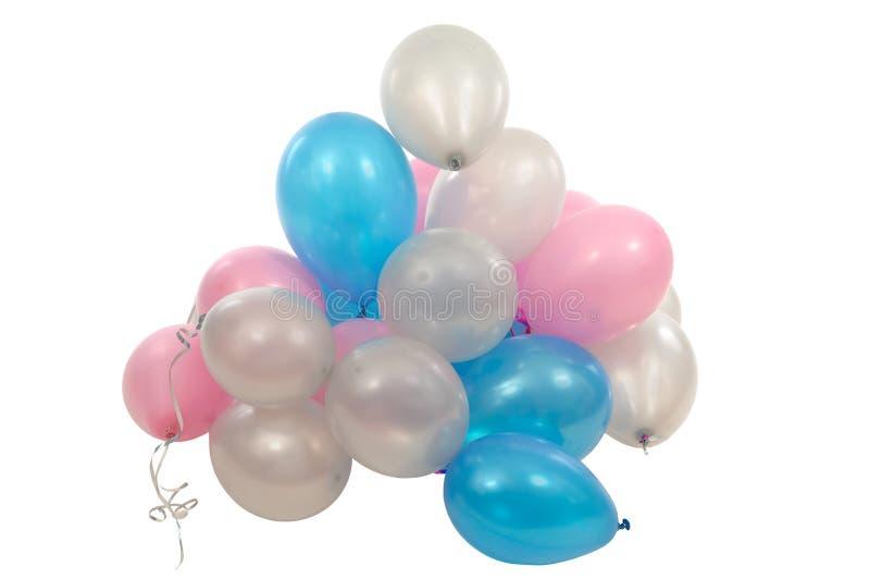 Stapel van ballons royalty-vrije stock fotografie