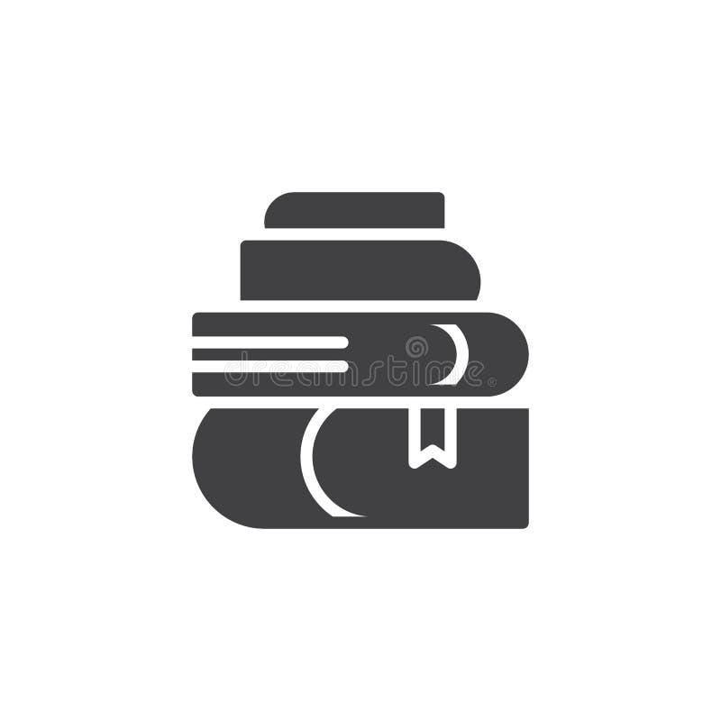 Stapel van boeken vectorpictogram vector illustratie