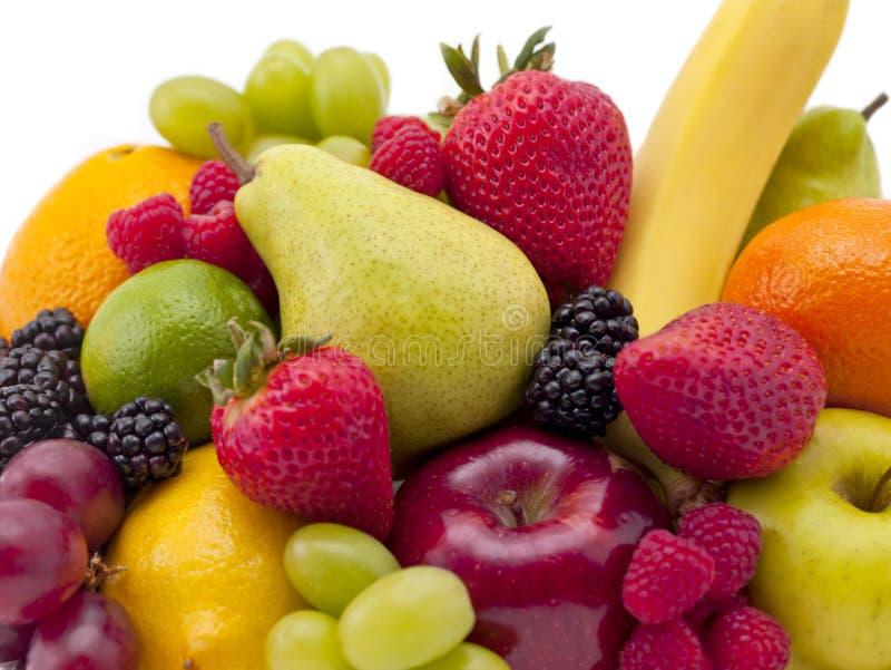Stapel van fruit royalty-vrije stock afbeeldingen