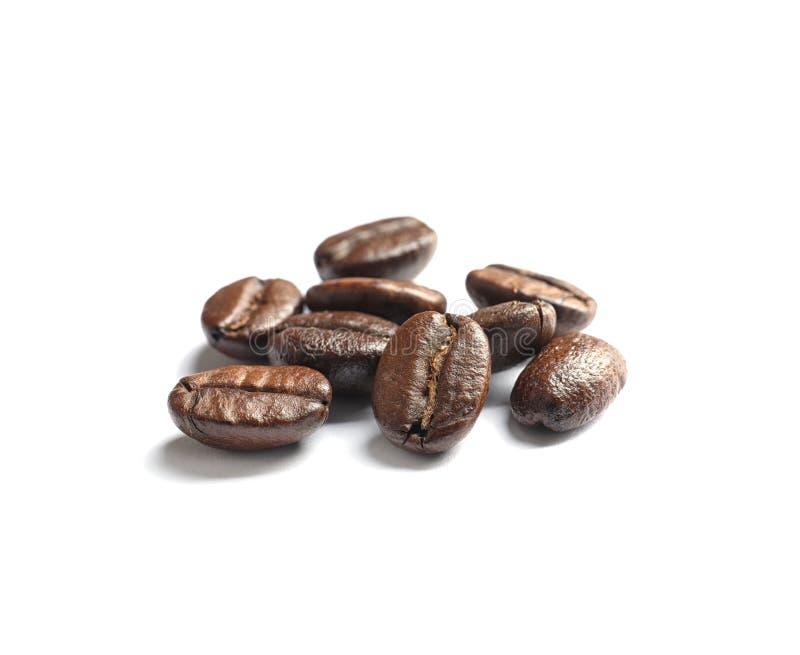 Stapel van geroosterde koffiebonen royalty-vrije stock afbeelding