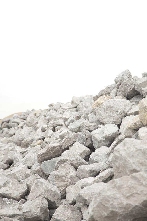 Stapel van Grey Bolder Rocks royalty-vrije stock foto