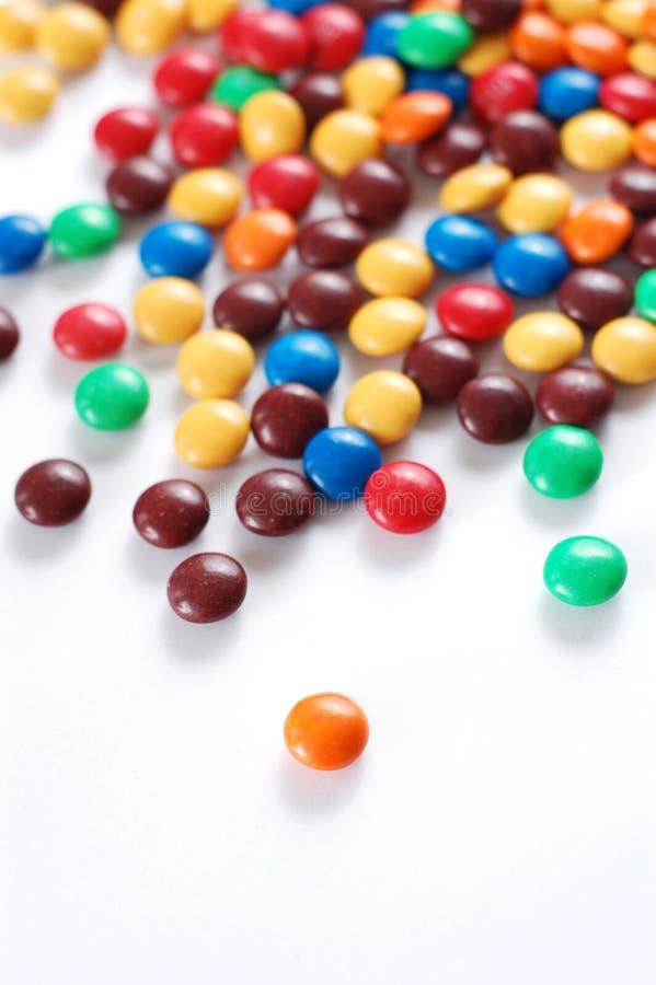 Stapel van kleurrijk suikergoed royalty-vrije stock afbeelding