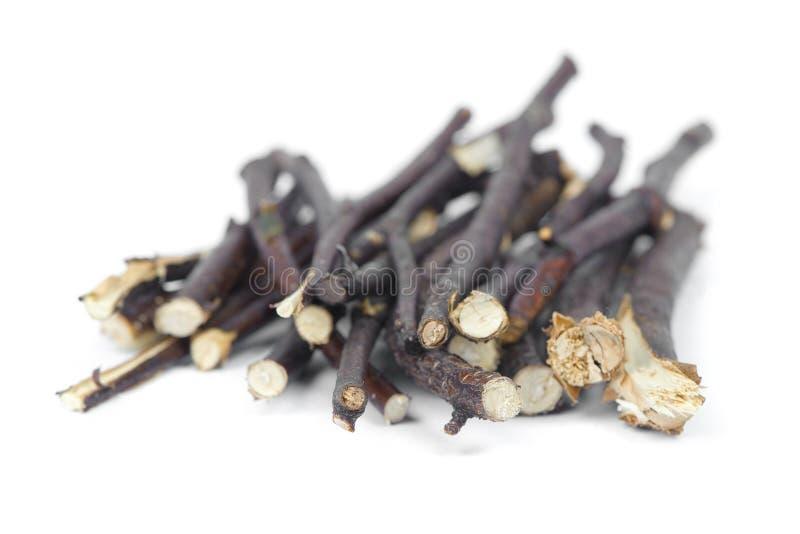 Stapel van kreupelhout stock afbeelding