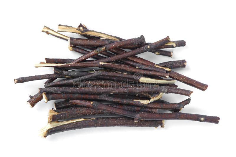 Stapel van kreupelhout royalty-vrije stock afbeeldingen