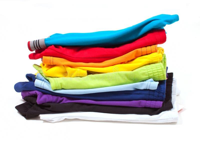 Stapel van mannelijk ondergoed stock foto