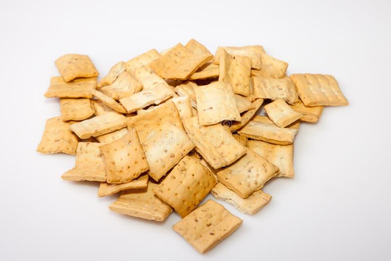 Stapel van reganas, typische $ce-andalusisch breadsticks royalty-vrije stock fotografie