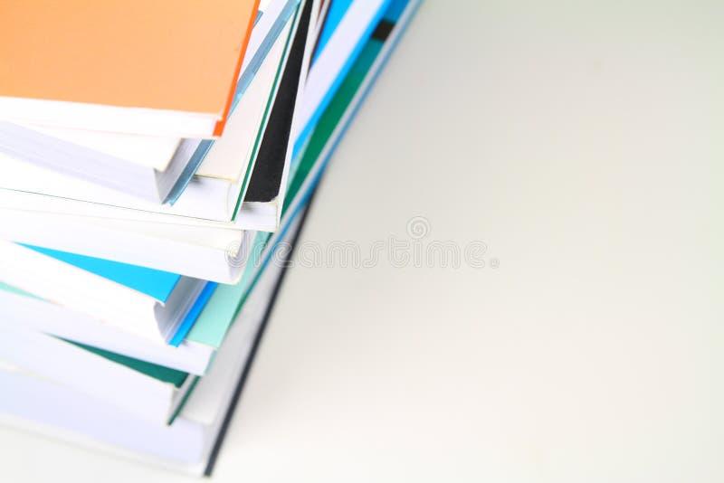 Stapel von Büchern stockfotografie