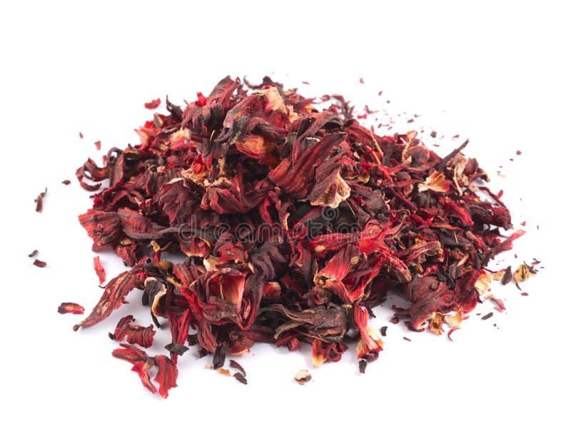 Stapel von getrockneten Teeblättern lizenzfreie stockfotografie