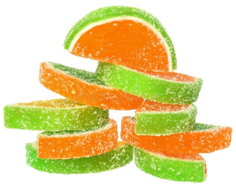 Stapelfruchtsüßigkeit lizenzfreie stockfotografie