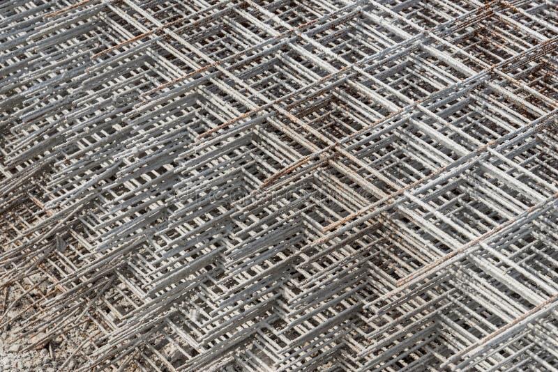 staplad rasterrebar arkivbilder