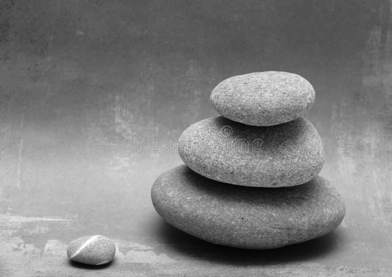 staplade rocks arkivbild