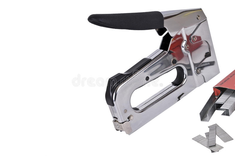 Staple Gun Royalty Free Stock Image