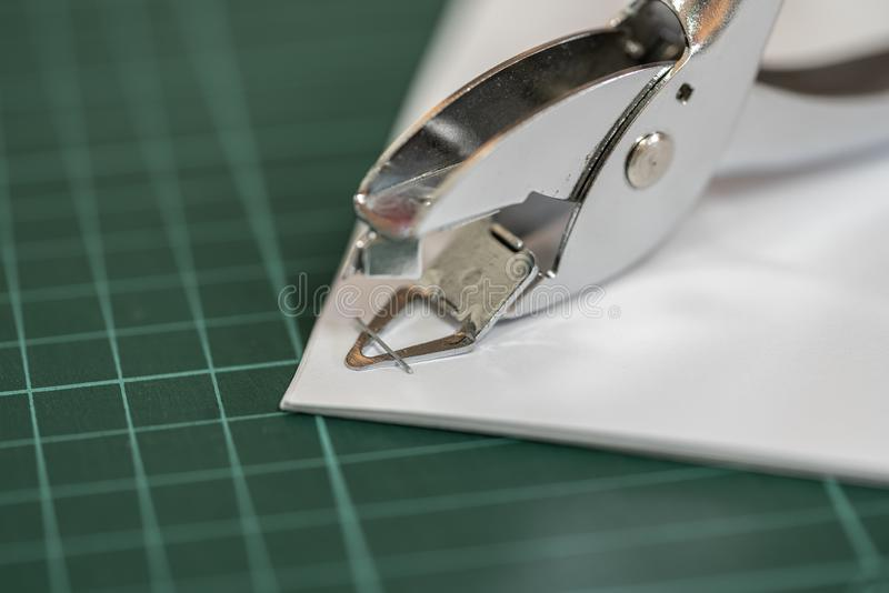 The staple remover royalty free stock images