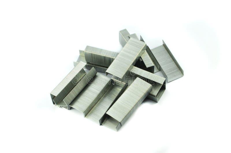 Stapler Pins stock photos