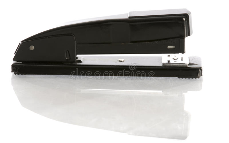 Download Stapler with reflection stock image. Image of desktop - 13676381
